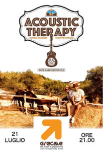 Acoustic therapy al Grecale @ Grecale