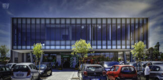 Il centro polivalente in via Elba a Termoli
