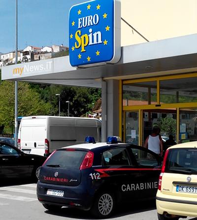 L'Eurospin di Campomarino