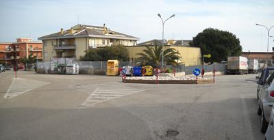 La rotonda in centro a Campomarino