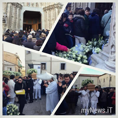 Larino - L'ultimo Saluto ad Antonello e Giovanni