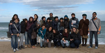 Ambiente Basso Molise: il gruppo in escursione
