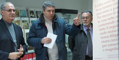 Il sindaco Di Brino e L'assessore Cocomazzi