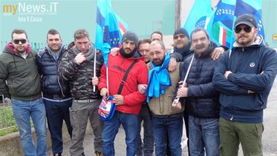 Le guardie giurate in sciopero