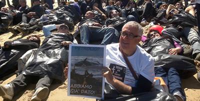 La manifestazione NoPetrol a Termoli dello scorso anno