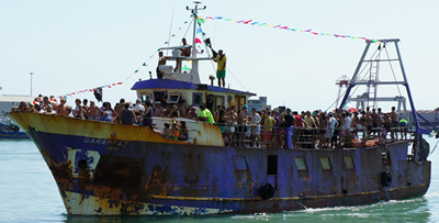 San Basso: processione a mare del 2011