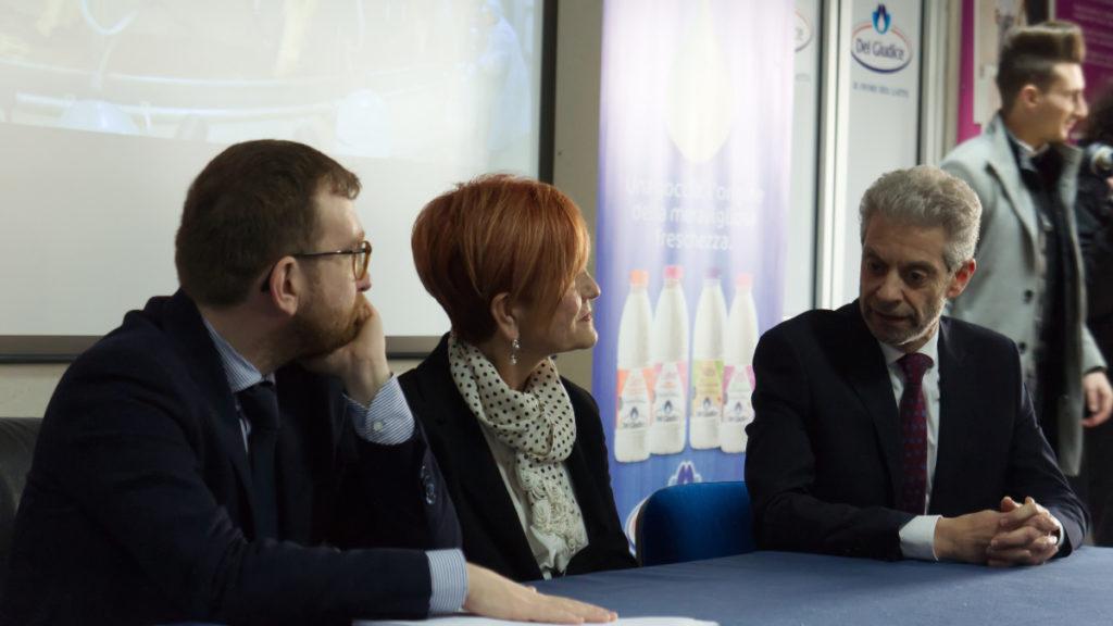 Michele Del Giudice e il Ministro Giuseppe Provenzano