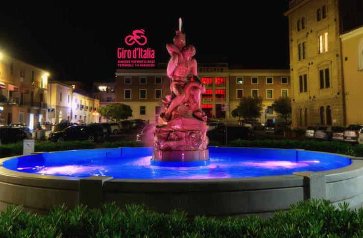 Giro d'Italia 2021- Fontana Termoli