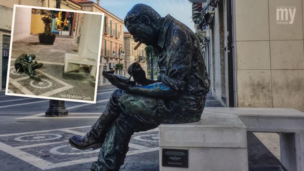 La statua di Benitto Jacovitti