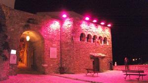 La torretta belvedere in rosa