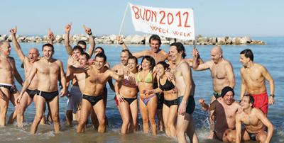 Termoli: Bagno di Capodanno 2012