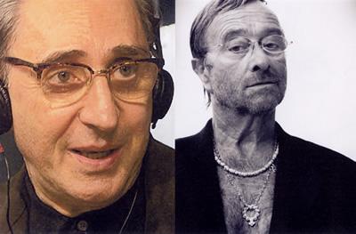 Franco Battiato e Lucio Dalla
