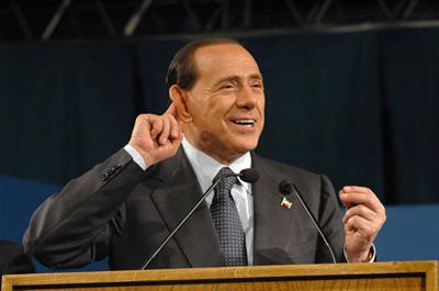Silvio Berlusconi a Termoli (Foto di Bruno Caserio)