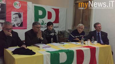 L'assemblea del PD di Termoli con alcuni Sindacalisti