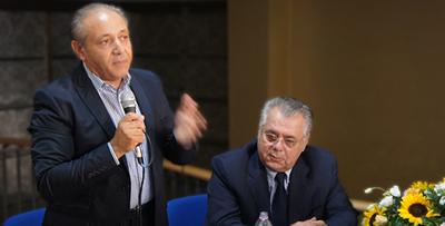 Nicola Romagnulo e Michele Iorio (foto myNews.iT)