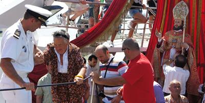 San Basso: Processione a Mare