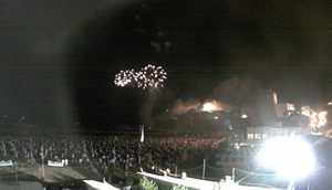 Incendio del Castello 2010