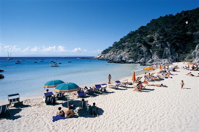 Isole Tremiti: spiaggia di San Domino