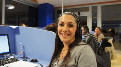 Rosanna - operatrice Call Center 3g D&R di Termoli